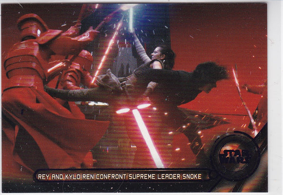 Star Wars Galatic Files 2018 Galactic Moments card GM-10 Purple 70/99