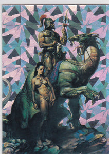 1992 Comic Images Boris Vallejo Series 2 Prism Insert P1 Nomad