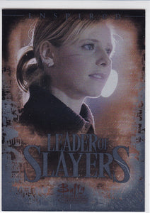 Buffy TVS 10th Anniversary Leader Of Slayers Insert card L2