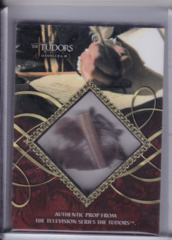 The Tudors Seasons 1 2 & 3 Pieces Of Quills Prop card TQ #d 169/200