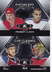 2013-14 ITG Decades 1990's Hockey base cards 101 to 200 choose your numbers