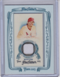 Jered Weaver 2013 Topps Allen & Ginter's Game Used Memorabilia Relic card AGR-JW