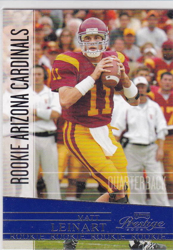 Matt Leinart 2006 Playoff Prestige Rookie card #223