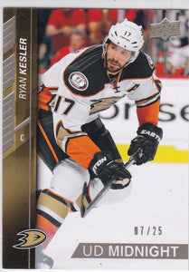 Ryan Kesler 2015-16 Upper Deck UD Midnight card #256 #d 07/25