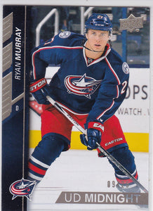 Ryan Murray 2015-16 Upper Deck UD Midnight card #310 #d 09/25
