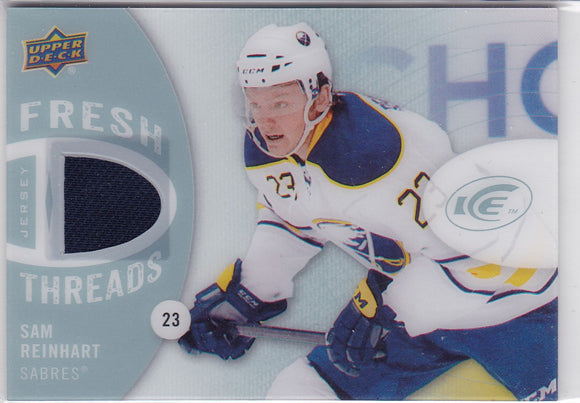 Sam Reinhart 2014-15 Ice Fresh Threads Jersey card FT-SR