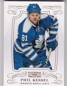 Phil Kessel 2013-14 National Treasures card #3 #d 184/199