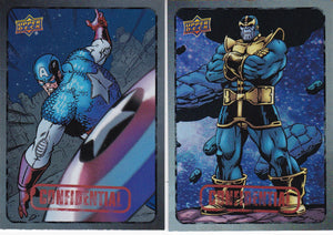 Marvel Dossier Confidential Base Foil Parallel cards Choose Your Numbers From the list