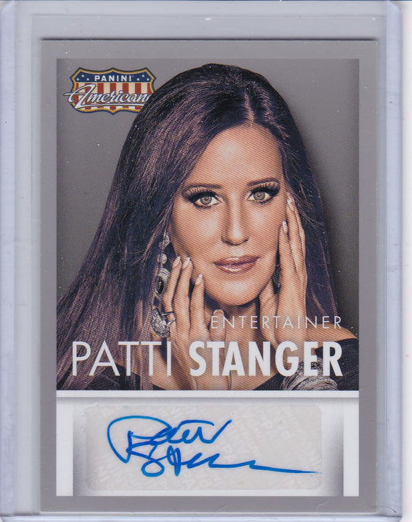 Patti Stanger 2015 Americana Autographed card S-PS