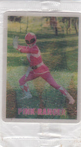 Power Rangers Magic Motion card Kimberly / Pink Ranger Trix Lucky Charms