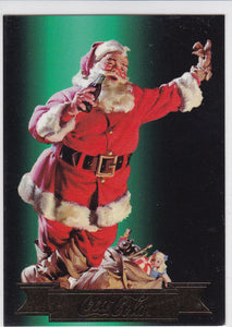 The Coca-Cola Collection Series 3 Santa card S22 Santa 1954