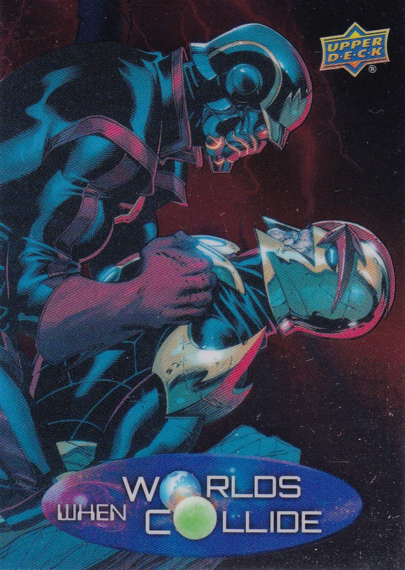 2015 Marvel Vibranium When Worlds Collide card WC-14 Nova Vs Star Lord