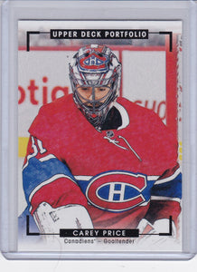 Carey Price 2015-16 Portfolio Color Art card #271