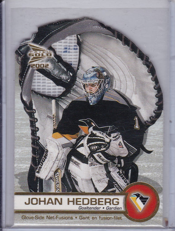 Johan Hedberg 2001-02 Mcdonald's Glove Side Net Fusion card #5