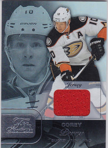 Corey Perry 2015-16 Showcase Flair Jersey card Row 1 Seat 2