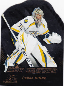 Pekka Rinne 2016-17 Showcase Hot Gloves card HG4