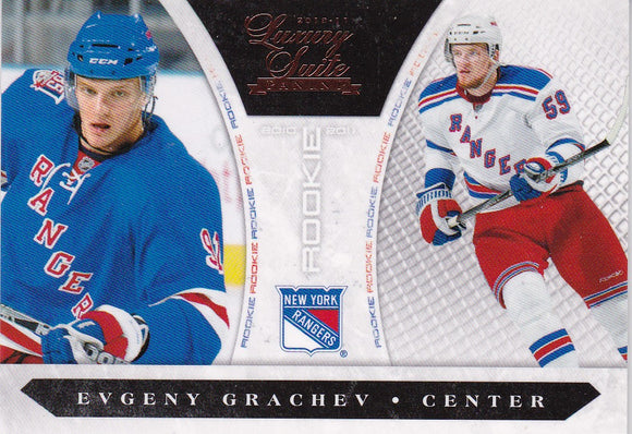 Evgeny Grachevy 2010-11 Luxury Suite Rookie card 209 #d 080/899
