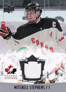 Mitchell Stephens 2015-16 UD Team Canada Juniors Jersey card #120
