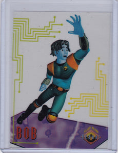 1995 Fleer Ultra Reboot Suspended Animation Card 2 of 10 Bob