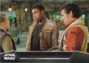 Star Wars The Force Awakens Movie Scenes Insert 13 of 20 Foil #d 178/250