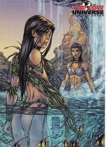 Top Cow Universe Trading Cards Promo card