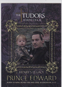The Tudors Seasons 1 2 & 3 Henry's Legacy Insert card HL-1