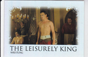The Tudors Seasons 1 2 & 3 The Leisurely King Foil Insert card LK-6