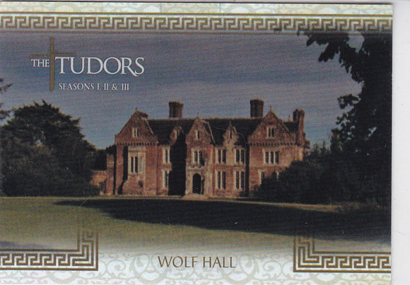 The Tudors Seasons 1 2 & 3 Location Foil Insert card L-7 Wolf Hall