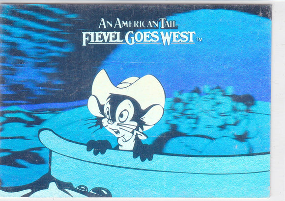 Fievel Goes West Hologram Insert card H-2