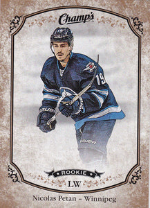 Nicolas Petan 2015-16 Champ's Rookie card #259 Gold Border