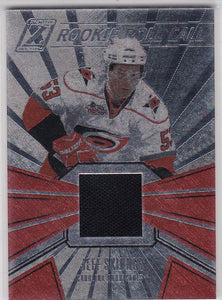 Jeff Skinner 2010-11 Zenith Rookie Roll Call Jersey card #2