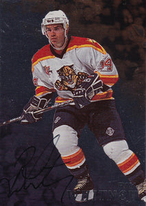Ray Whitney 1998-99 Be A Player Autograph card # 56