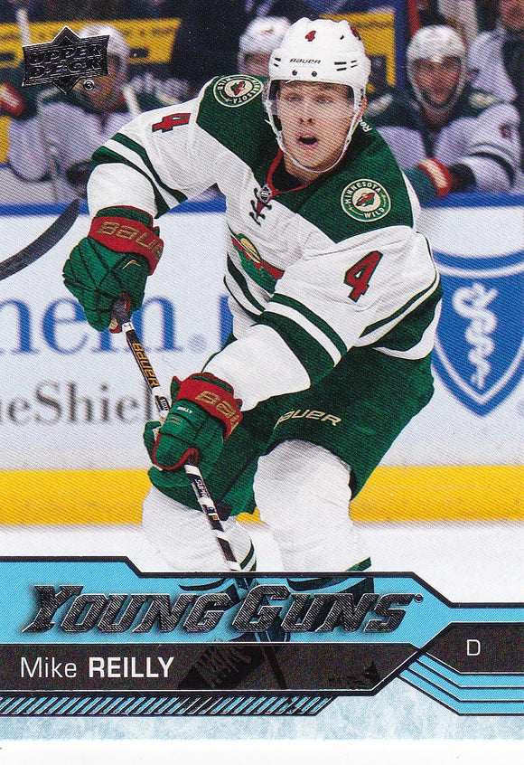 Mike Reilly 2016-17 Upper Deck Young Guns Rookie card #239