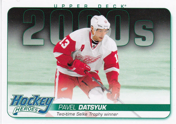 Pavel Datsyuk 2014-15 Upper Deck Hockey Heroes card HH72