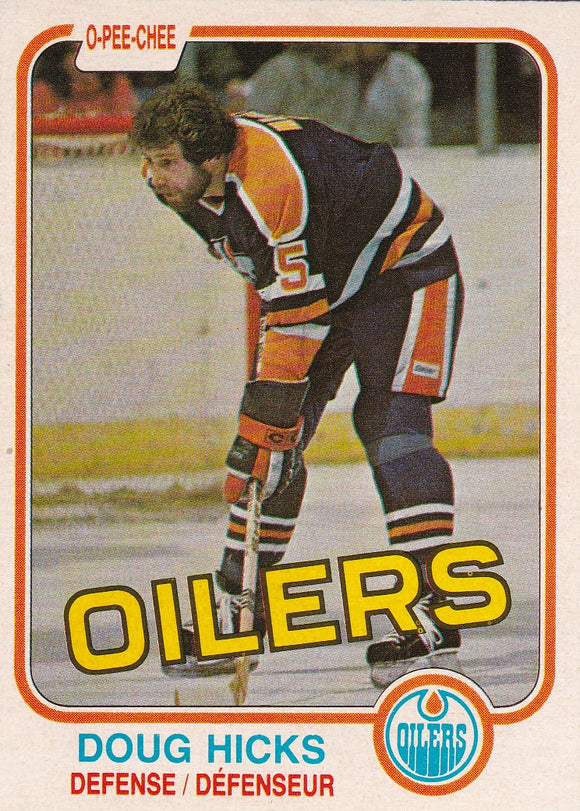 Doug Hicks 1981-82 O-Pee-Chee card #114