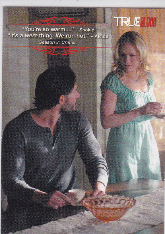 True Blood Premiere Edition The Quotable True Blood card Q5