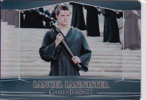 Game Of Thrones Valyrian Steel Metal base card #49 Lancel Lannister