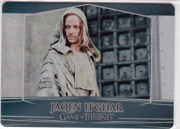 Game Of Thrones Valyrian Steel Metal base card #41 Jaqen H'ghar