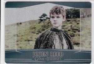 Game Of Thrones Valyrian Steel Metal base card #72 Jojen Reed
