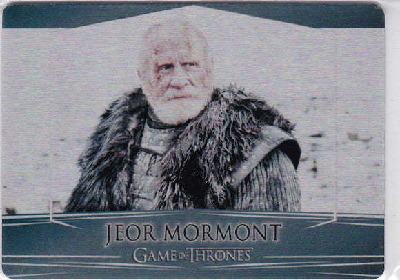 Game Of Thrones Valyrian Steel Metal base card #62 Jeor Mormont