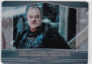 Game Of Thrones Valyrian Steel Metal base card #39 Ser Alliser Thorne