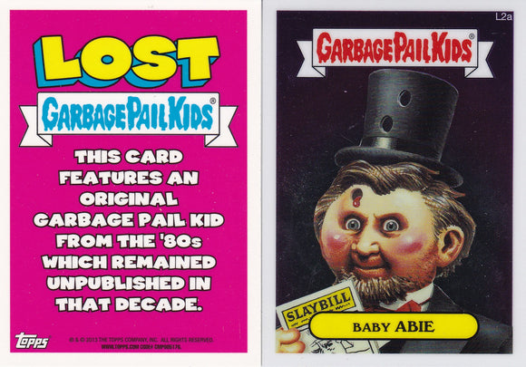 2013 Garbage Pail Kids Chrome Lost cards Choose Your Numbers from the list