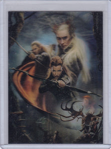 The Hobbit The Desolation of Smaug Lenticular Movie Posters card KA-05