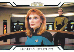2017 Women of Star Trek 50th Anniversary Women in Command card WC2 Beverly Crusher