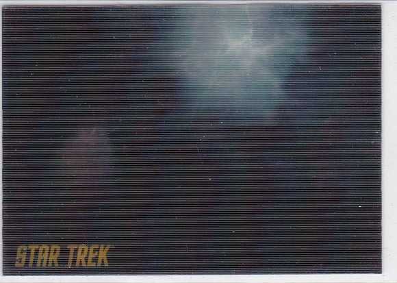 2011 Star Trek Remastered The Original Series Ships In Motion Insert card RL5