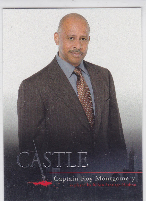 Castle Seasons 1 & 2 Character Bios Insert card C8 Captain Roy Montgomery