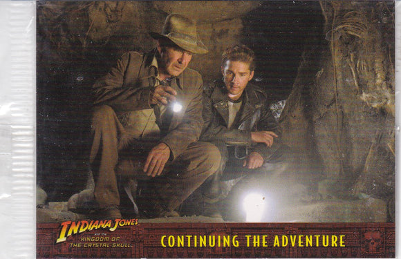 Indiana Jones Kingdom Of The Crystal Skull Box Topper Promo card P1