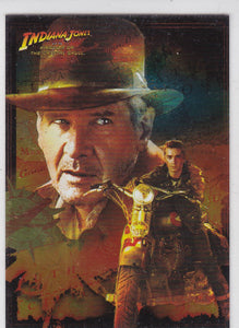 Indiana Jones Kingdom Of The Crystal Skull Foil Insert card 3 of 10