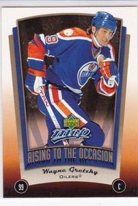 Wayne Gretzky 2005-06 MVP Rising To The Occasion card RO13