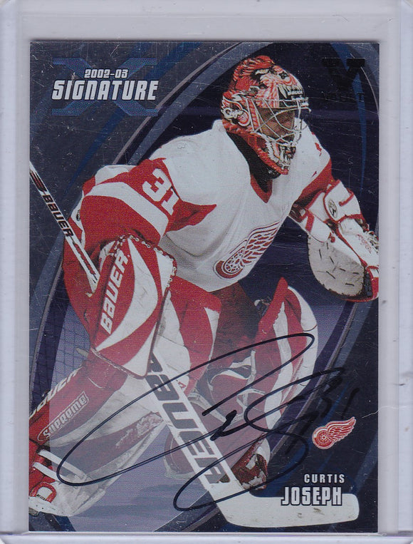 Curtis Joseph 15-16 Final Vault 2002-03 BAP Signature Series Autograph #155